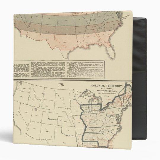 Original grants of 1776 settled area binder