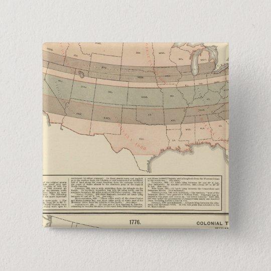 Original grants of 1776 settled area button