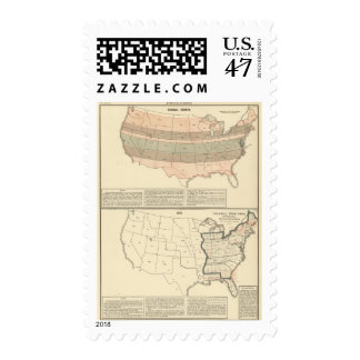 Original grants of 1776 settled area postage