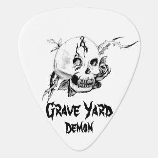 'Original' Grave Yard Demon Guitar Pick