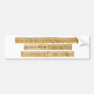 ORIGINAL Great Isaiah Scroll Dead Sea Scrolls Bumper Sticker