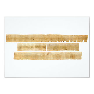 ORIGINAL Great Isaiah Scroll Dead Sea Scrolls Card