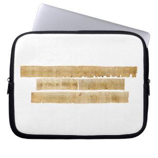 ORIGINAL Great Isaiah Scroll Dead Sea Scrolls Laptop Computer Sleeve