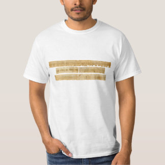 ORIGINAL Great Isaiah Scroll Dead Sea Scrolls T-Shirt