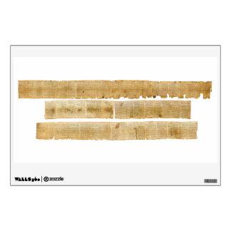 ORIGINAL Great Isaiah Scroll Dead Sea Scrolls Wall Sticker
