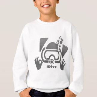 original gris ACEPTABLE iDive del equipo de Camisas