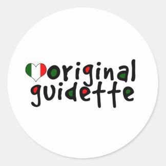 Original Guidette Classic Round Sticker