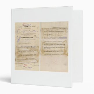 ORIGINAL Gulf of Tonkin Resolution Document Binder