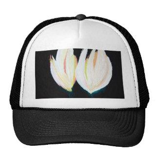 Original Hand Painted Tulips Hat