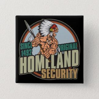 Original Homeland Security Pinback Button