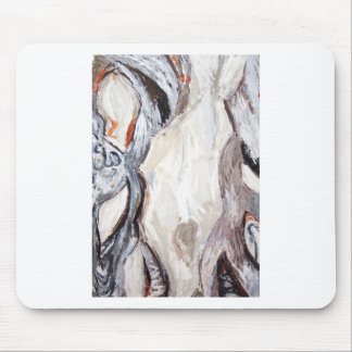 Original Human Mold (abstract expressionism) Mouse Pad