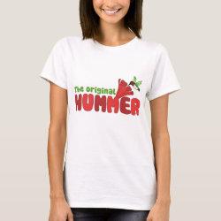 Women's Basic T-Shirt with The Original Hummer design