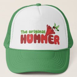 Trucker Hat with The Original Hummer design