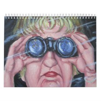 Original Humorous Art Calendar