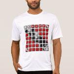 original iDive del mosaico Camisetas