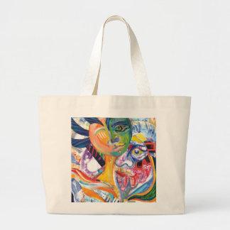 Original Illustration Artwork Lateral_Canvas Bags