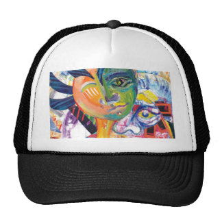 Original Illustration Artwork Lateral_Canvas Hat