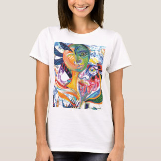 Original Illustration Artwork Lateral_Canvas T-Shirt