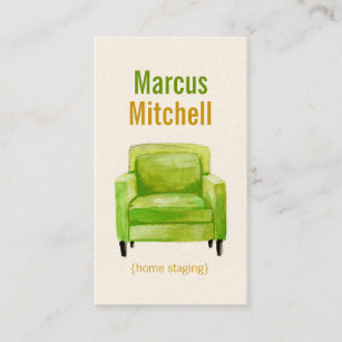 Home staging business cards templates zazzle original illustration home staging business cards colourmoves