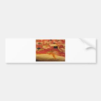 Original italian pizza bumper sticker