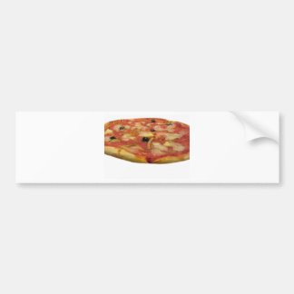 Original italian pizza bumper sticker
