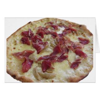 Original italian pizza card