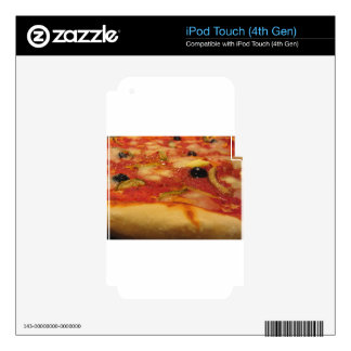 Original italian pizza decal for iPod touch 4G