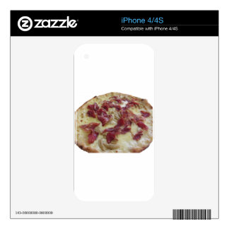 Original italian pizza iPhone 4S decal