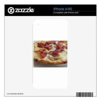 Original italian pizza iPhone 4S decals