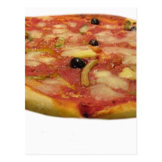 Original italian pizza postcard