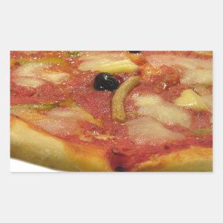 Original italian pizza rectangular sticker