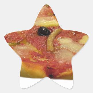 Original italian pizza star sticker
