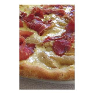 Original italian pizza stationery