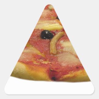 Original italian pizza triangle sticker