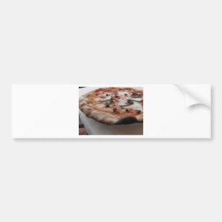 Original italian pizza with capers and anchovies bumper sticker