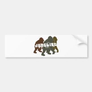 Original Junglist Bumper Sticker