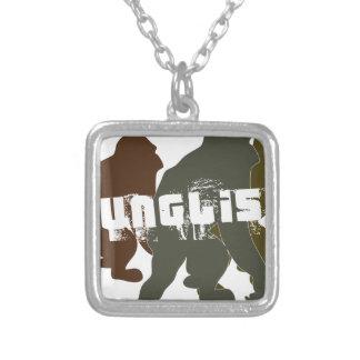 Original Junglist Square Pendant Necklace