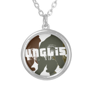 Original Junglist Round Pendant Necklace