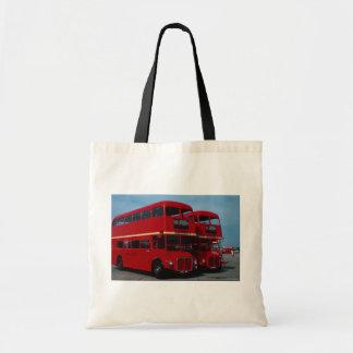 """Original London """"""""Routemaster"""""""" bus of 1954 Tote Bags"""