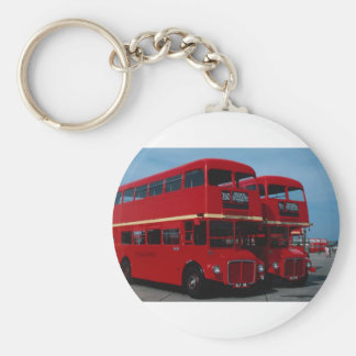 "Original London """"Routemaster"""" bus of 1954 Keychain"
