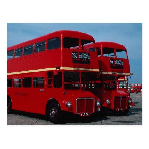 "Original London """"Routemaster"""" bus of 1954 Postcard"