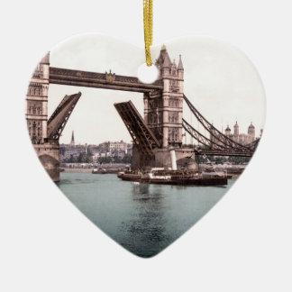 Original London TowerBridge 1900's photo Ceramic Ornament