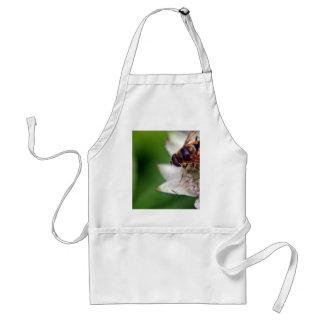 Original macra de la flor del abejón delantal