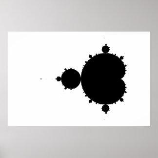 Original Mandelbrot Set 01 - Fractal Poster