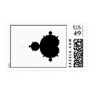 Original Mandelbrot Set 01 - Fractal Stamp