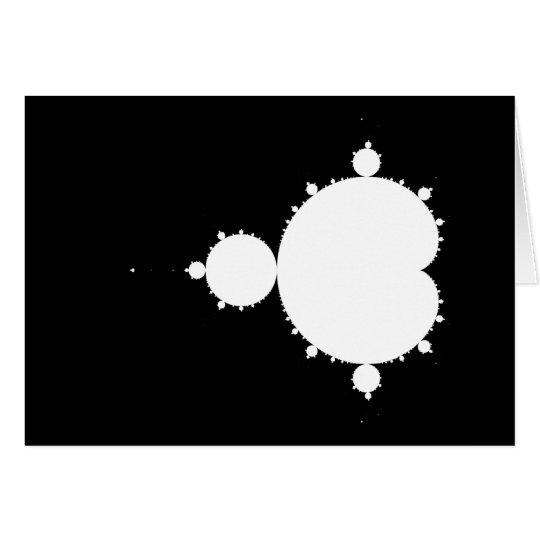 Original Mandelbrot Set 02 - Fractal Card