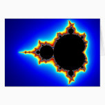 Original Mandelbrot Set 03 - Fractal Card