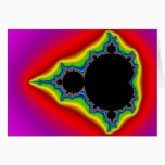 Original Mandelbrot Set 04 - Fractal Card