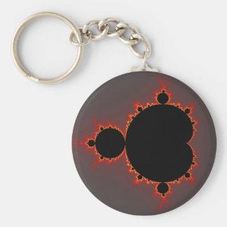 Original Mandelbrot Set - Fractal Keychain