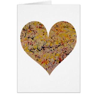 Original marbling Kalondour Greeting Card